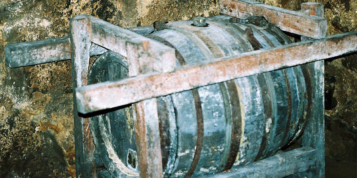 Gammalt öl, det Geddska ölet i tunna