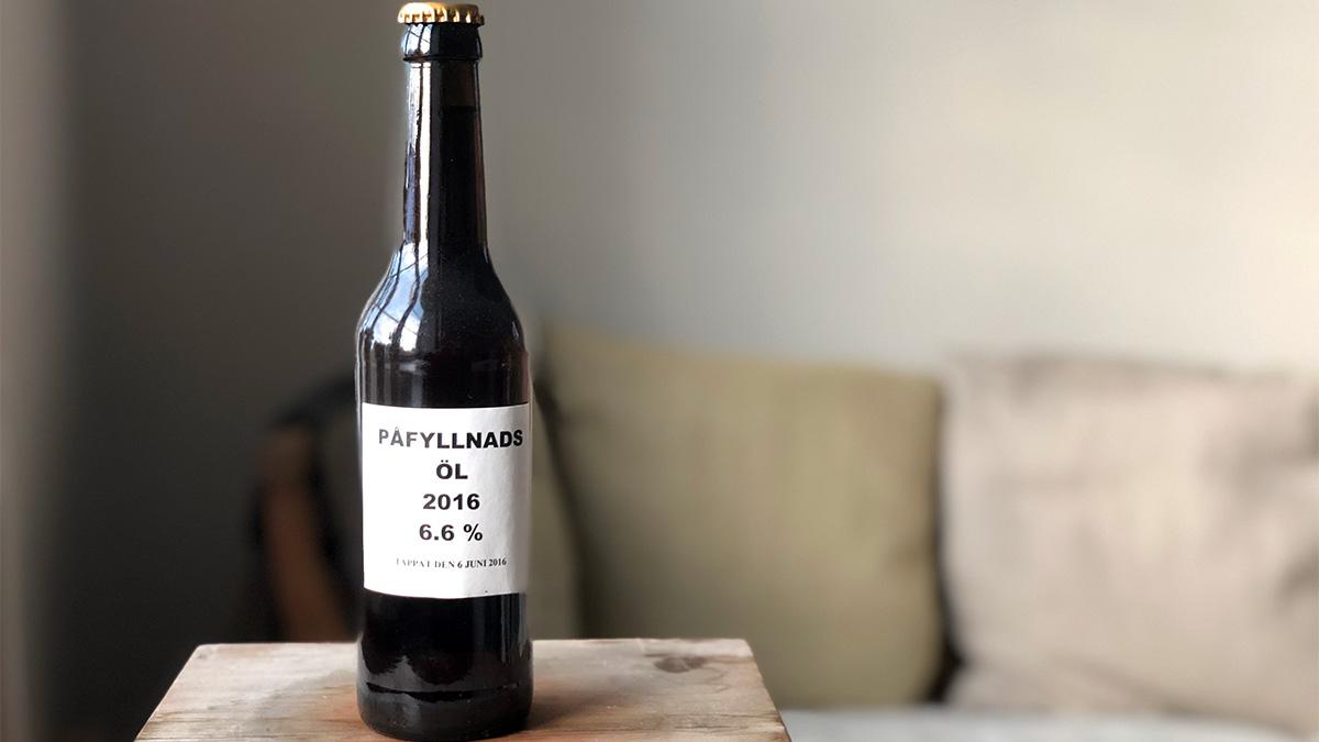 Hundraårigt öl fylls på med påfyllnadsöl - men vilken jäst använder vi?